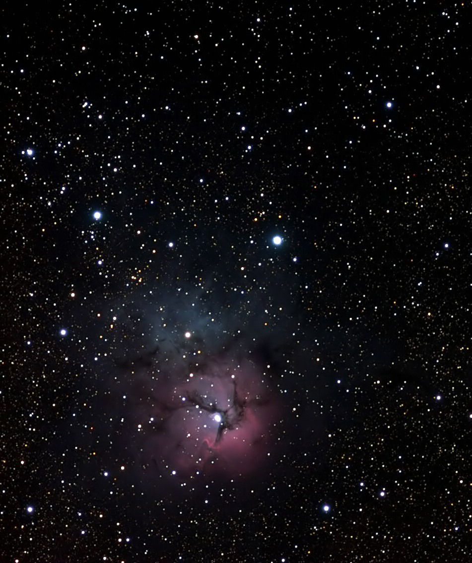 M20,Trifid Nebula